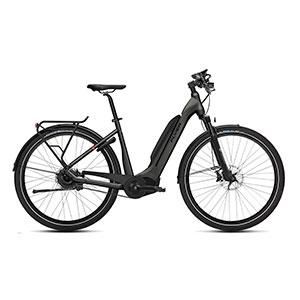 anthrazit| FLYER E-Bike Upstreet 5 7.03, Tiefeinsteigerrahmen anthrazit