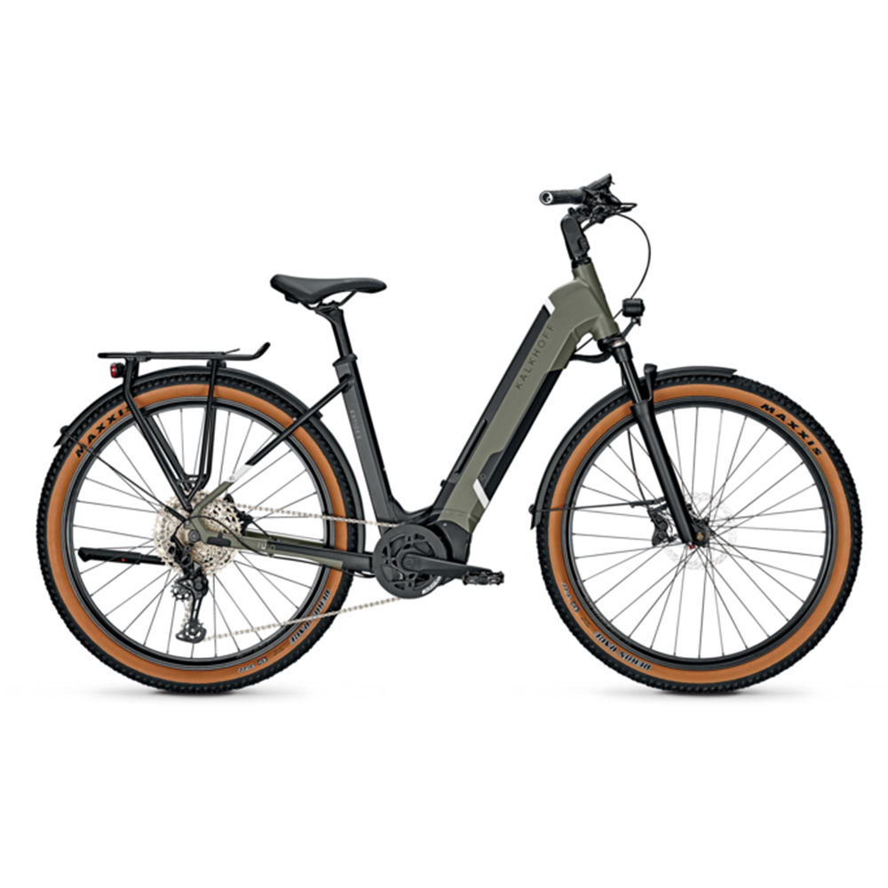 Kalkhoff E-Bike Entice 5.5 Advance Plus Green Wave-Rahmen