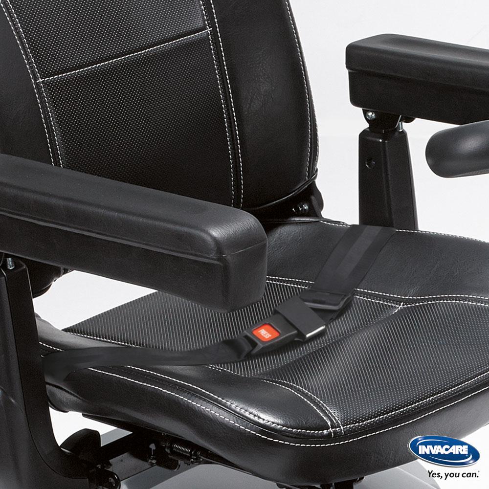 Invacare Elektromobil Leo, ergonomischer und schicker Sitz