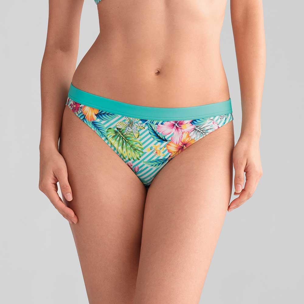 Amoena Honolulu Bikinihose in Türkis bunt