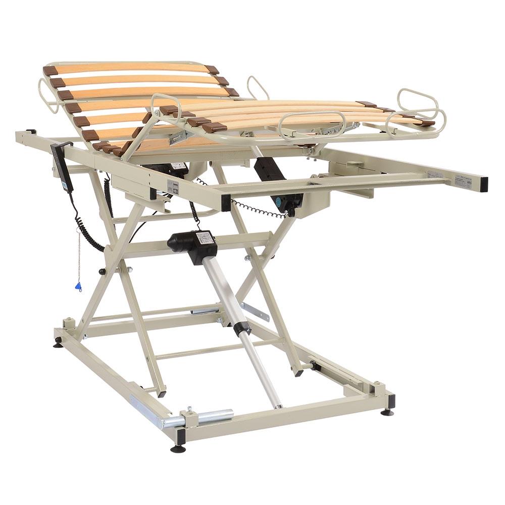AKS Einlegerahmen B4 compact macht aus dem vorhandenen Bett ein Pflegebett
