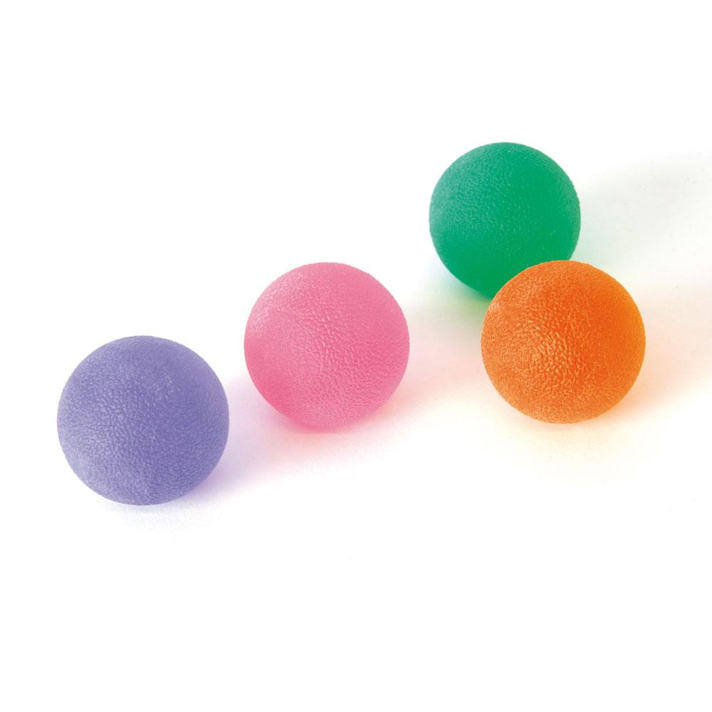 SISSEL Press-Ball in 4 Stärken zur Verbesserung der Beweglichkeit von Fingern, Hand und Unterarm