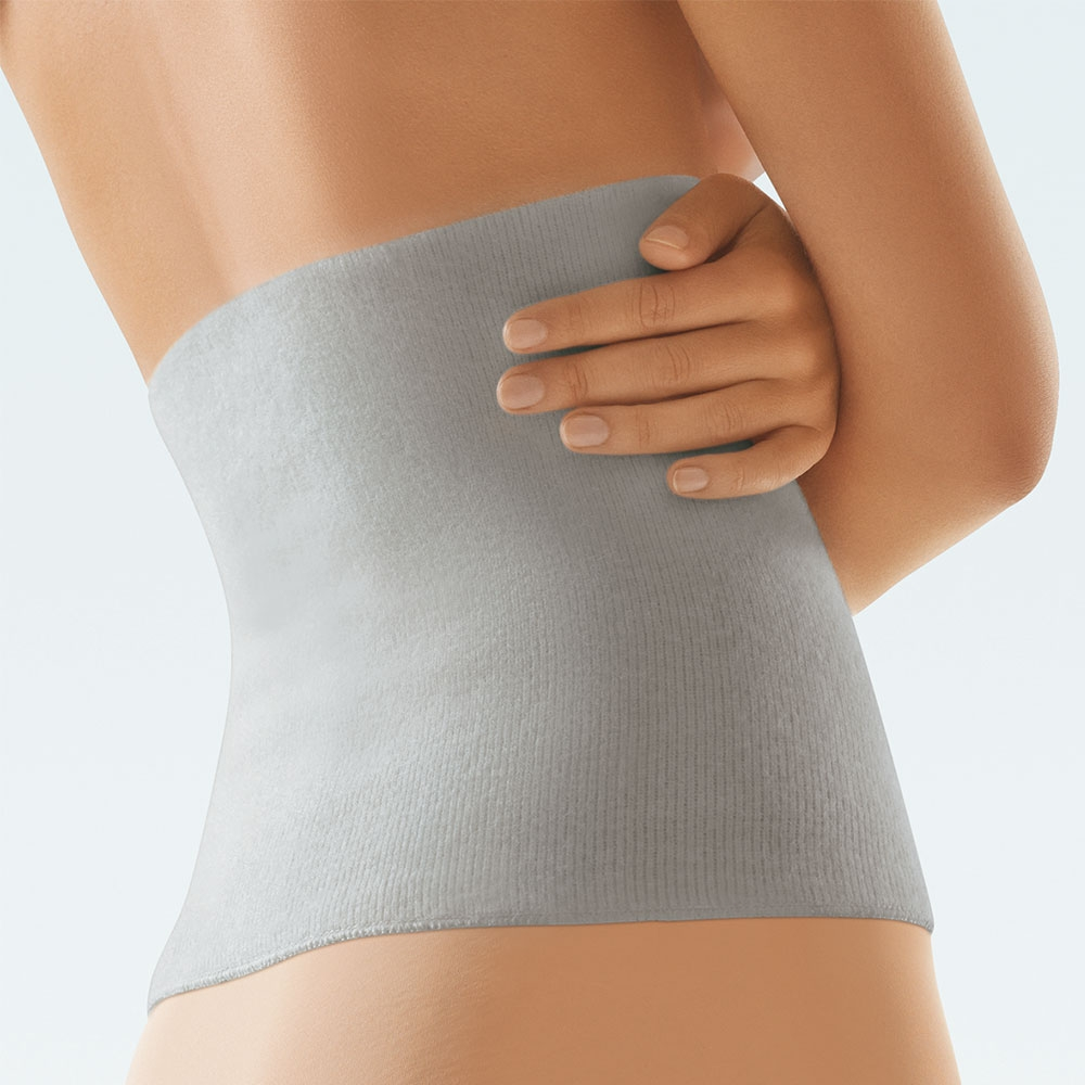 Bort ClimaCare Leibwärmer, Rückenwärmer und Nierenwärmer, Farbe: Silber Swatch