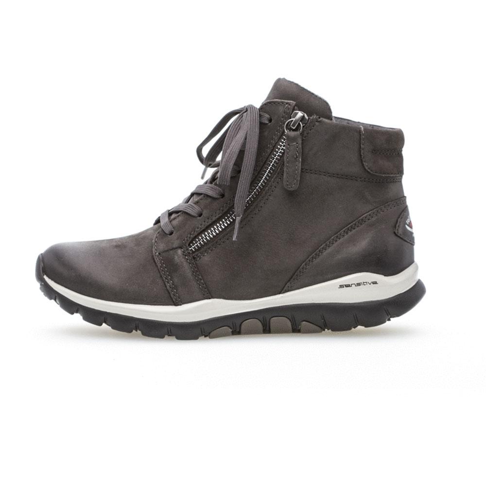 Gabor Rollingsoft sensitive High Top Sneaker  Dark Grey - Seitenansicht Außenseite