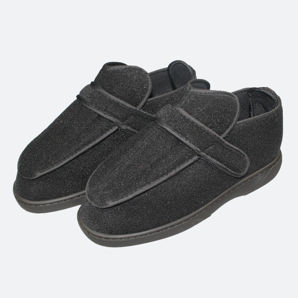 Werkmeister Wewa® Ped flach Therapieschuhe - bequeme Schuhe bei geschwollenen und schmerzempfindlichen Füßen, Farbe: Schwarz