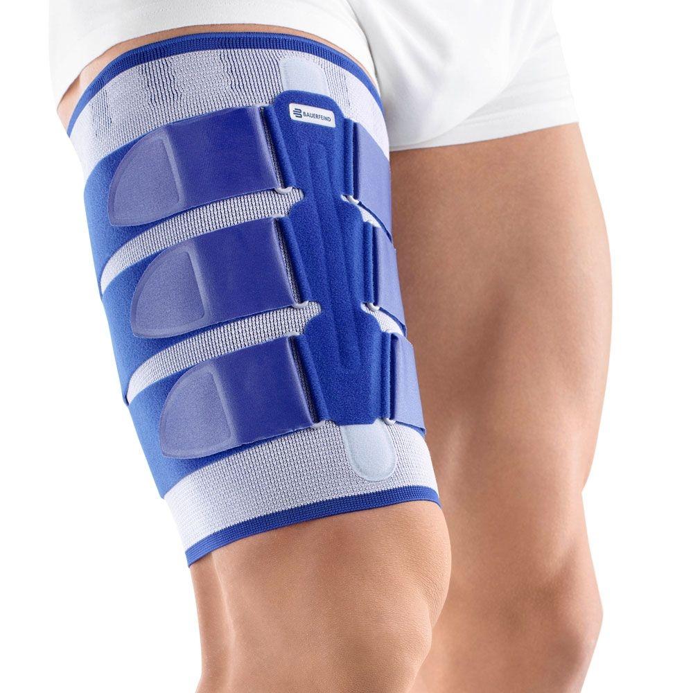 Bauerfeind MyoTrain® Bandage zur Behandlung von Muskelverletzungen am Oberschenkel