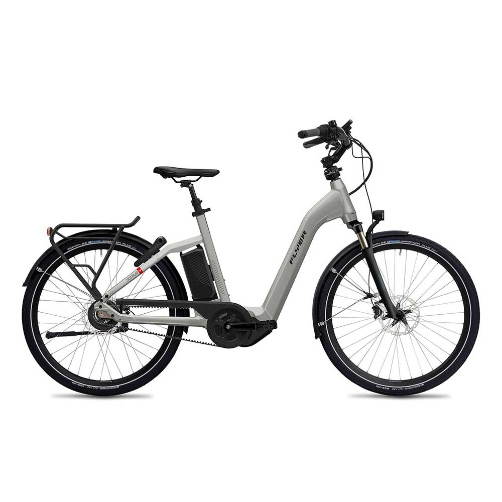 silber| FLYER E-Bike Gotour4 5.00 in Cast Silver Gloss