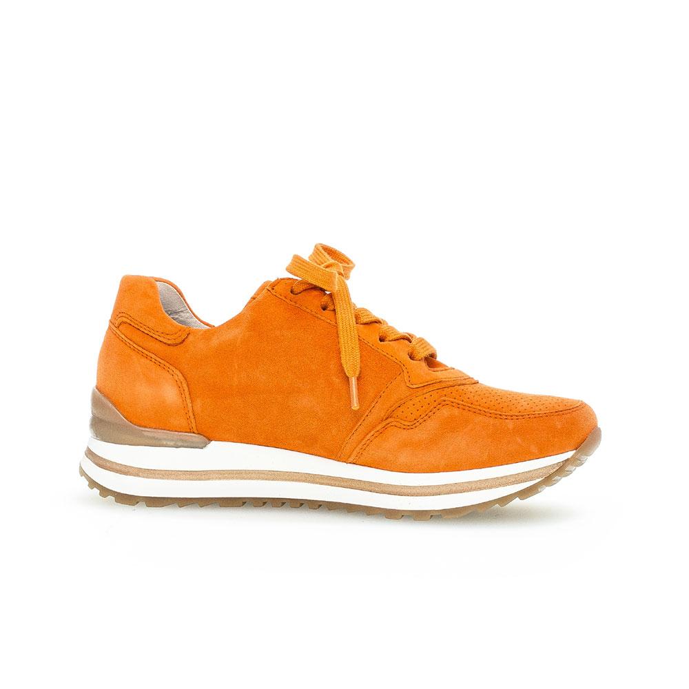 Gabor comfort Sneaker für Damen in Orange - Ansicht Innenseite