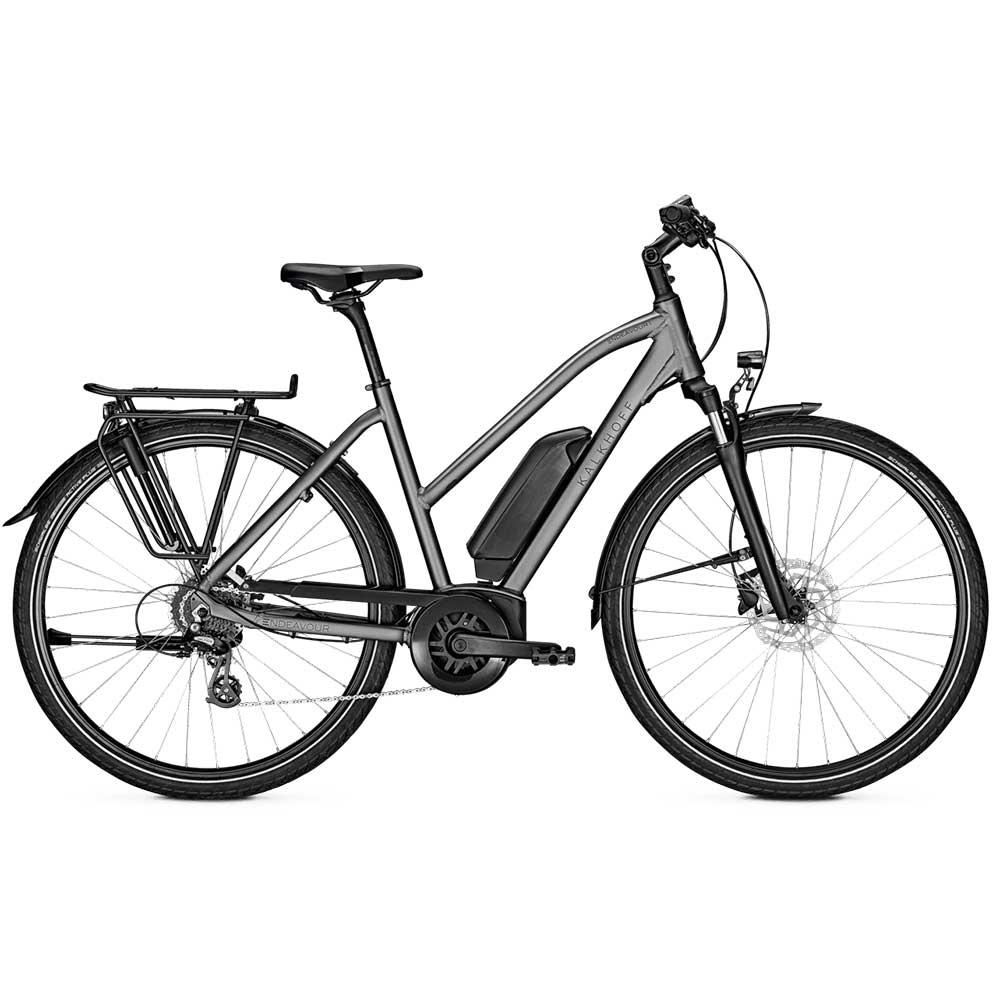grau| Kalkhoff E-Bike Endeavour 1.B Move, Trapezrahmen in Grau