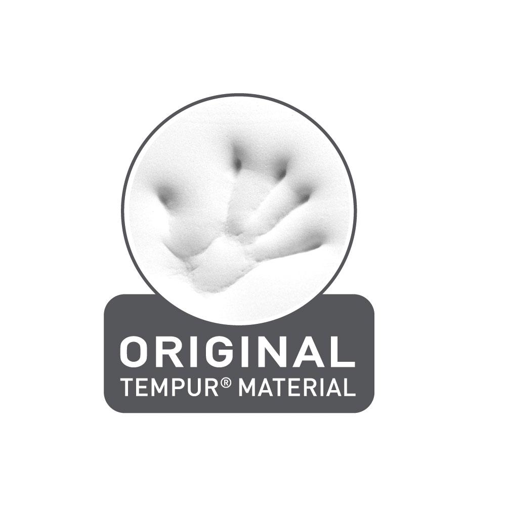Original TEMPUR Material, viskoelastisches Material für optimale Druckentlastung
