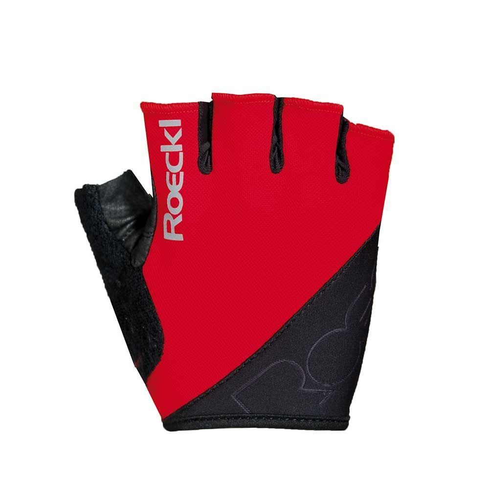 red| Roeckl BOLOGNA Kurzfingerhandschuhe in Rot