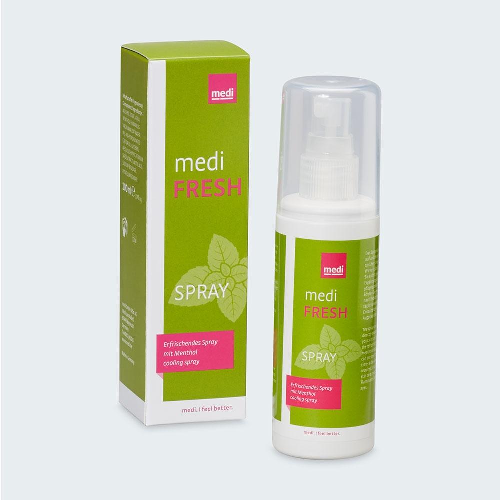 medi Fresh Spray - Frischespray für Haut und Kompressionsstrümpfe