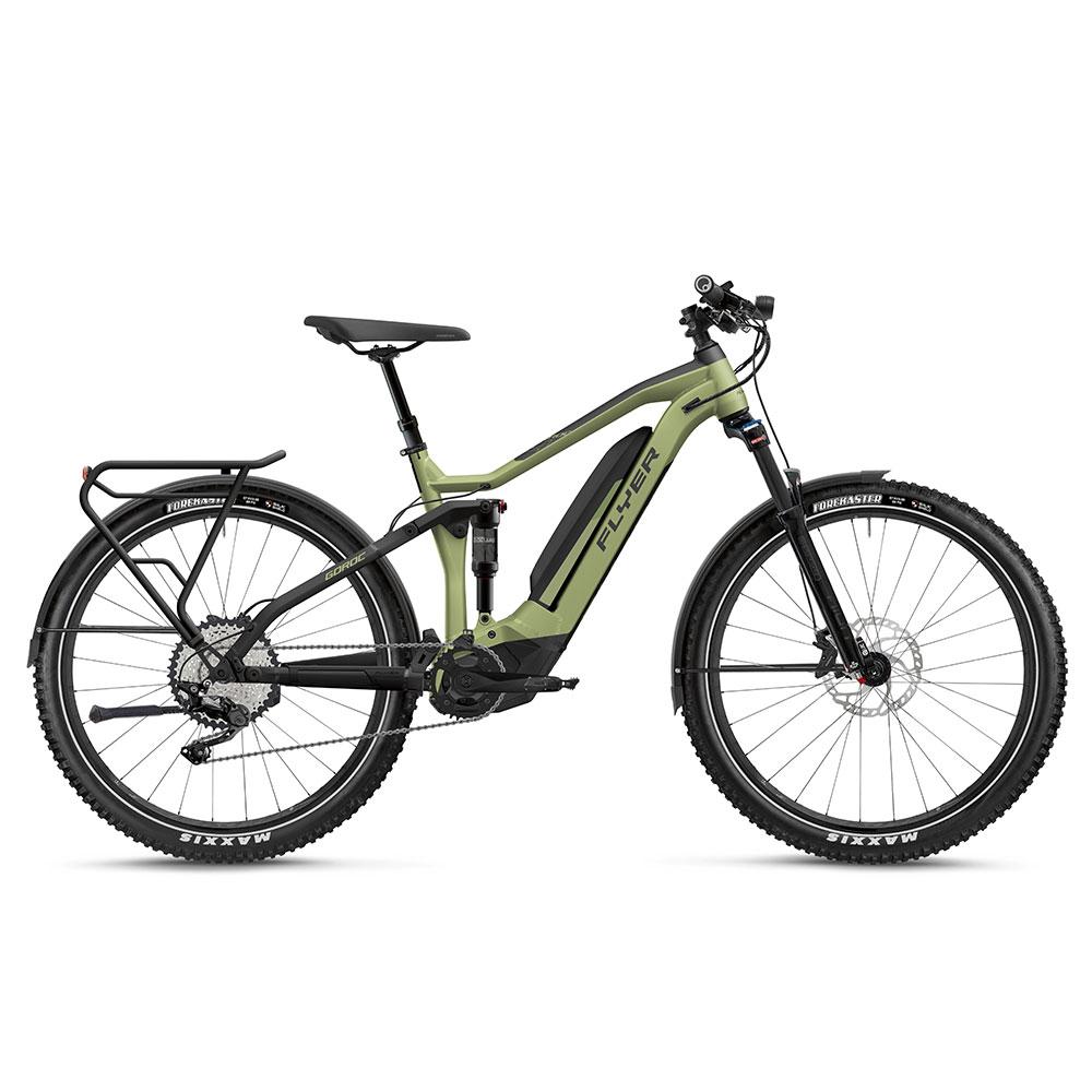 FLYER E-Bike Goroc4 4.10 in Grün