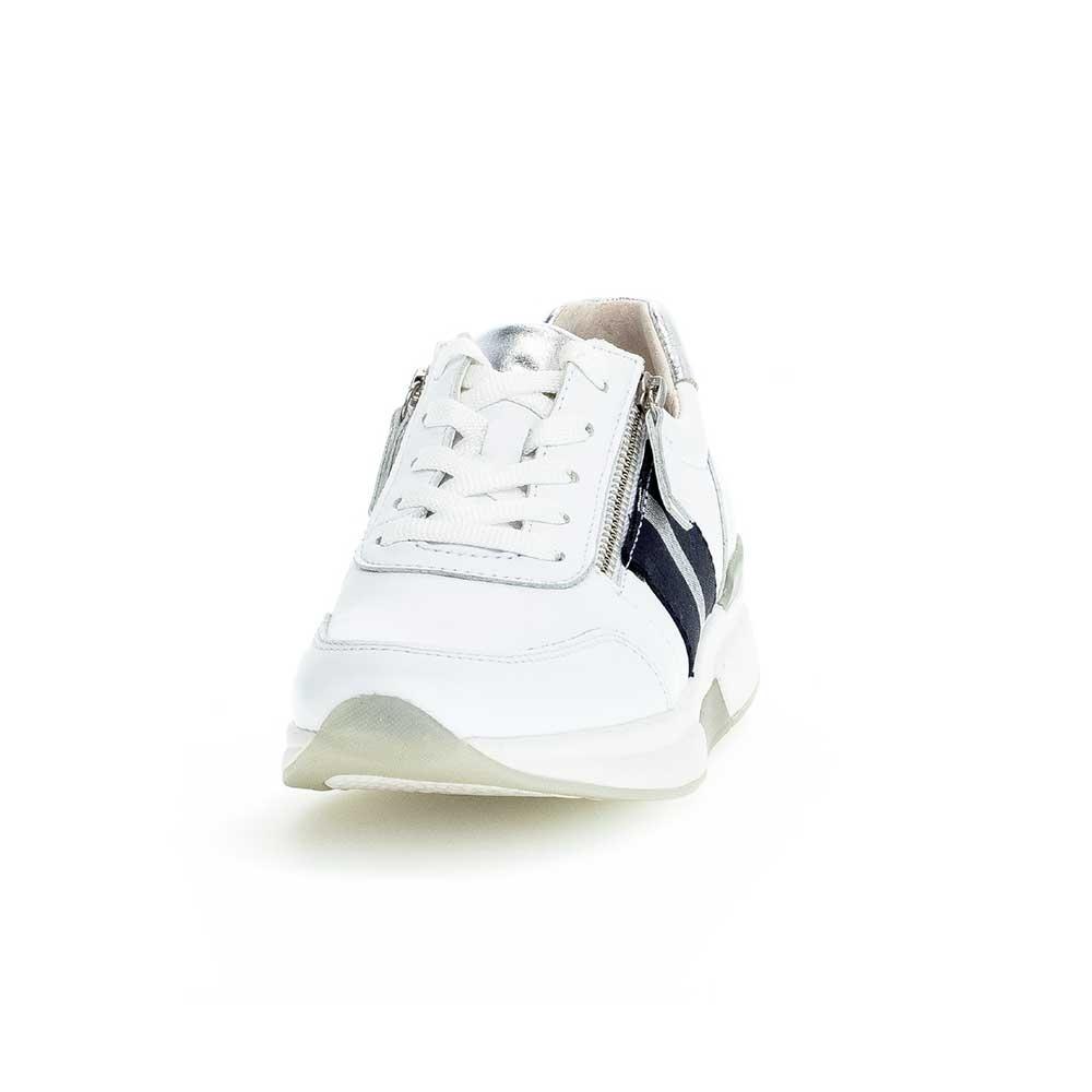 Gabor Rollingsoft sensitive Sneaker White - Ansicht vorne