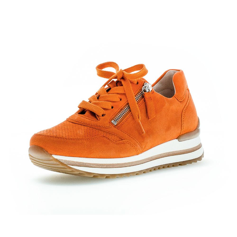 Gabor comfort Sneaker für Damen in Orange - Ansicht Außenseite vorne