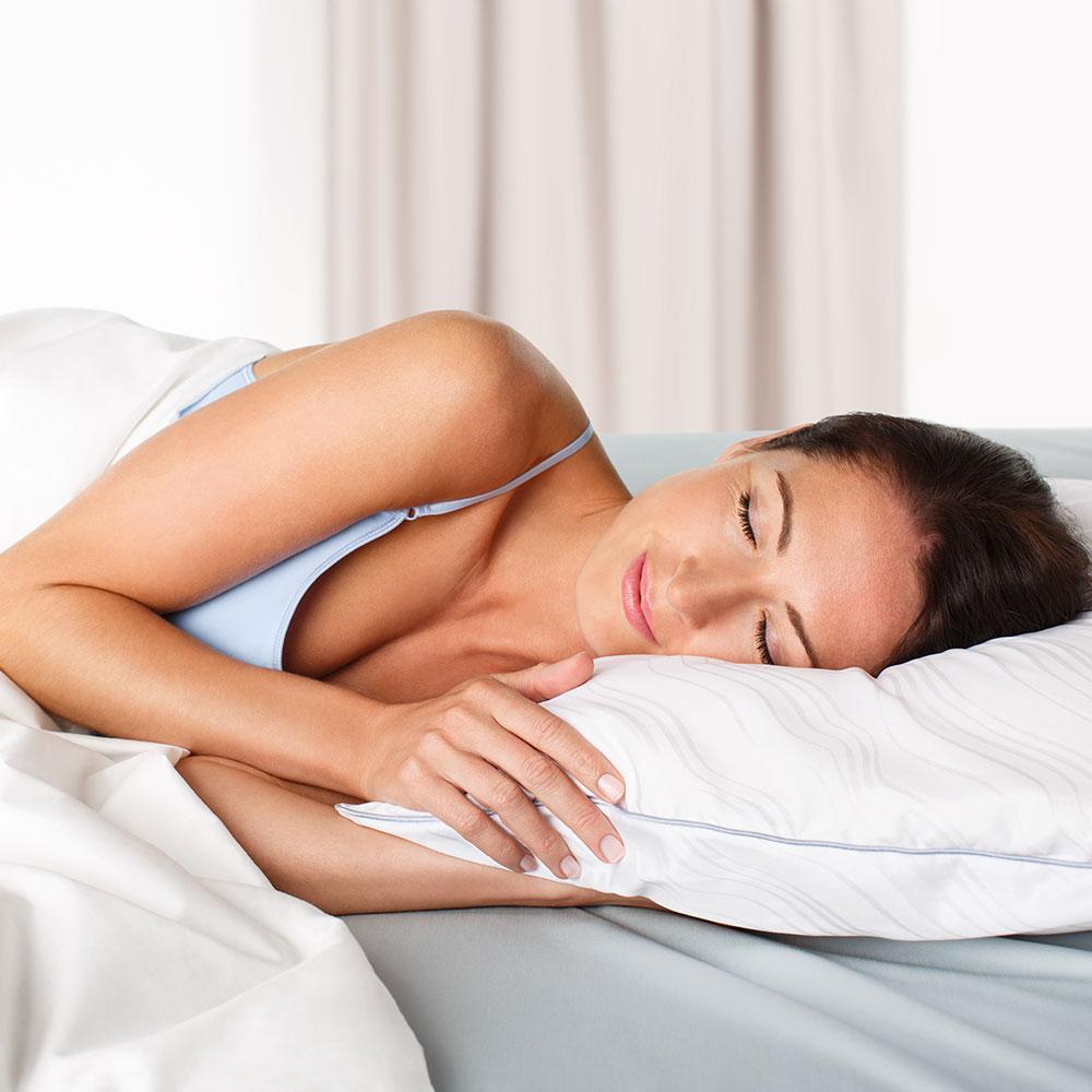 EMPUR Schlafkissen EasyClean, angenehm und hygienisch schlafen