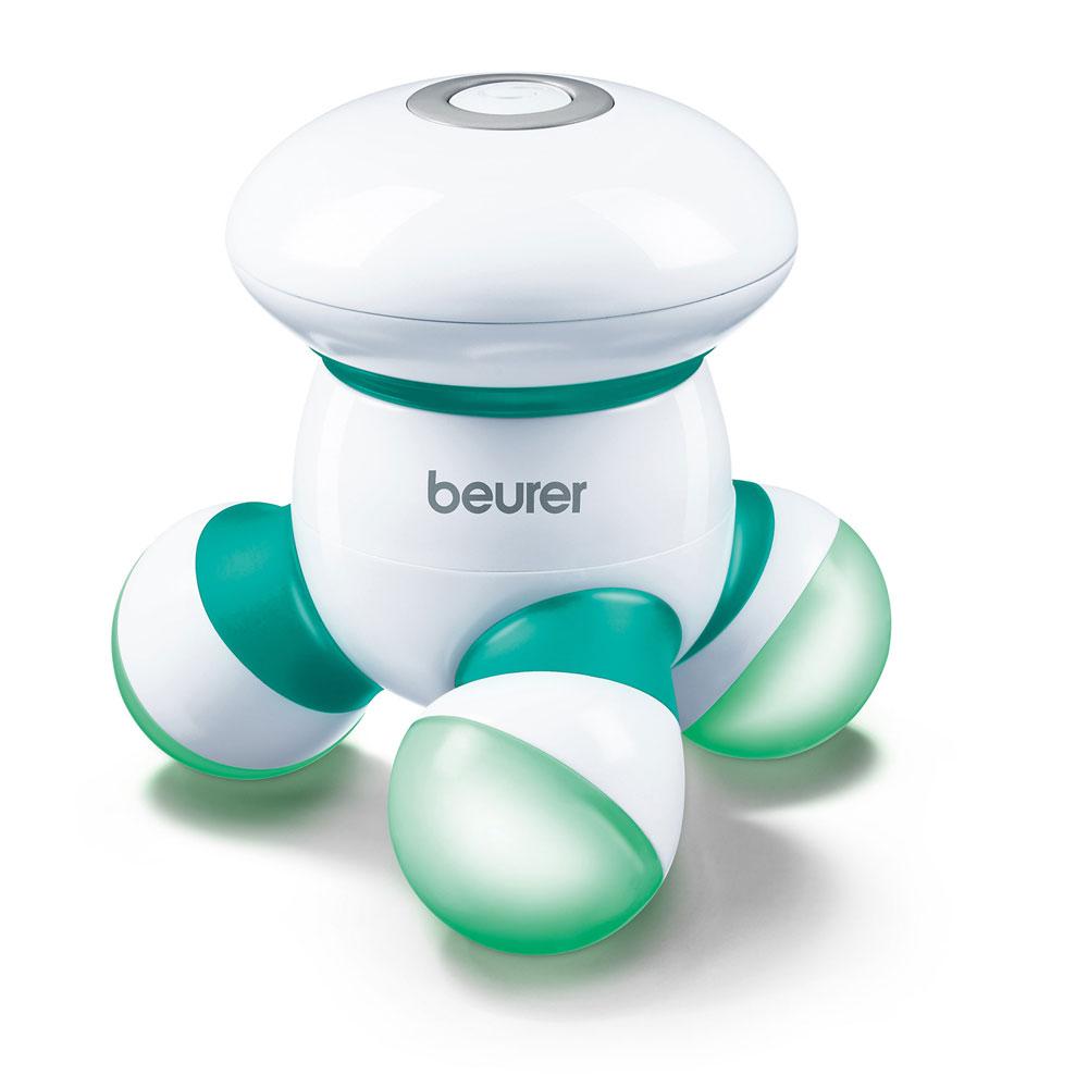 beurer Mini-Massagegerät MG 16, Farbe: weiß-grün