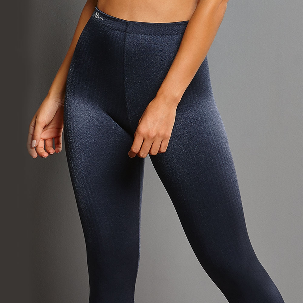 dunkelblau| Anita Sport Tights Massage 1695, vorne