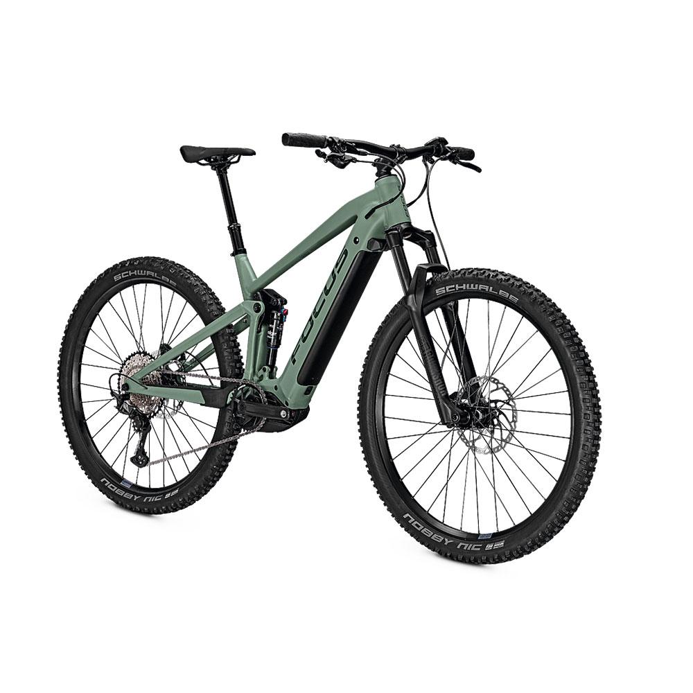 FOCUS E-Bike Thron2 6.8  in Green  Ansicht vorne