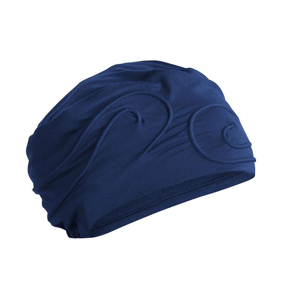Die Kopfbedeckung Moonflower von Amoena schützt die Kopfhaut nach der Chemotherapie