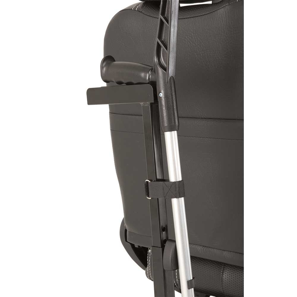 Praktischer Invacare Stockhalter passend für viele Scooter-Modelle
