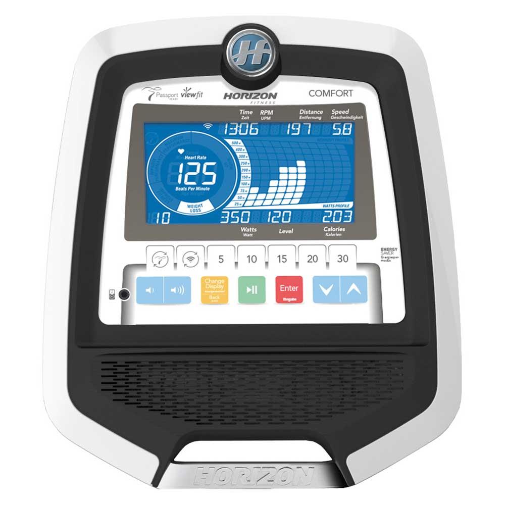 Horizon Ergometer Comfort R8.0 LCD Fenster