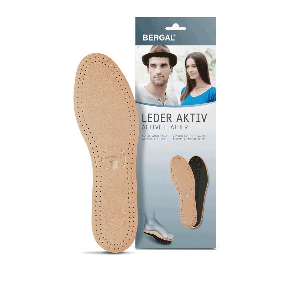 BERGAL® Einlegesohlen Leder Aktiv