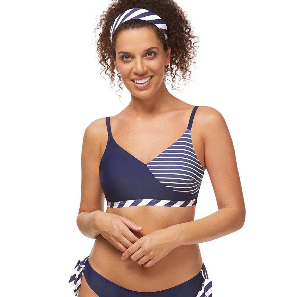 Amoena Infinity Pool Bikini Top Model Vorderseite