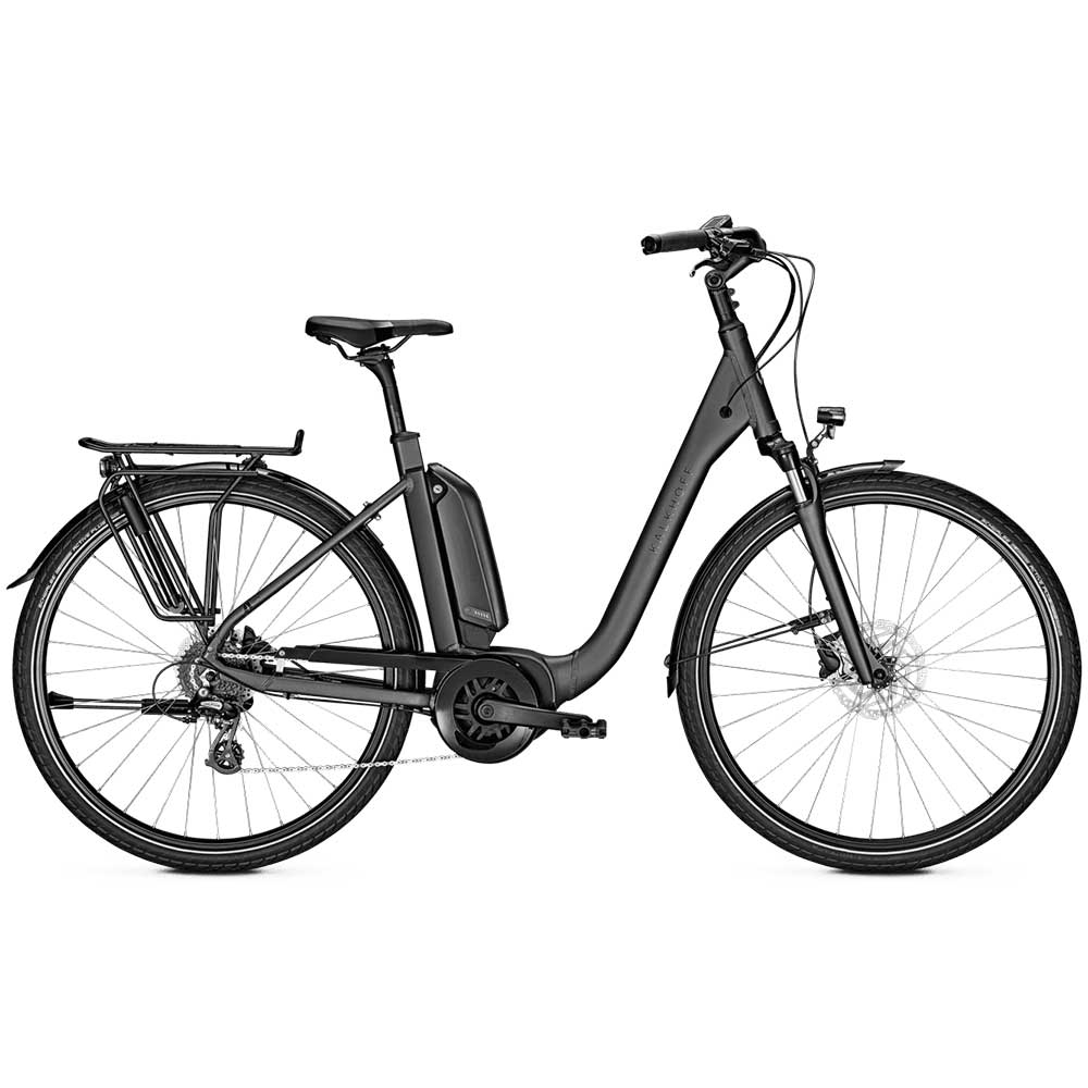 grau| Kalkhoff E-Bike Endeavour 1.B Move, Tiefeinsteigerrahmen in Grau