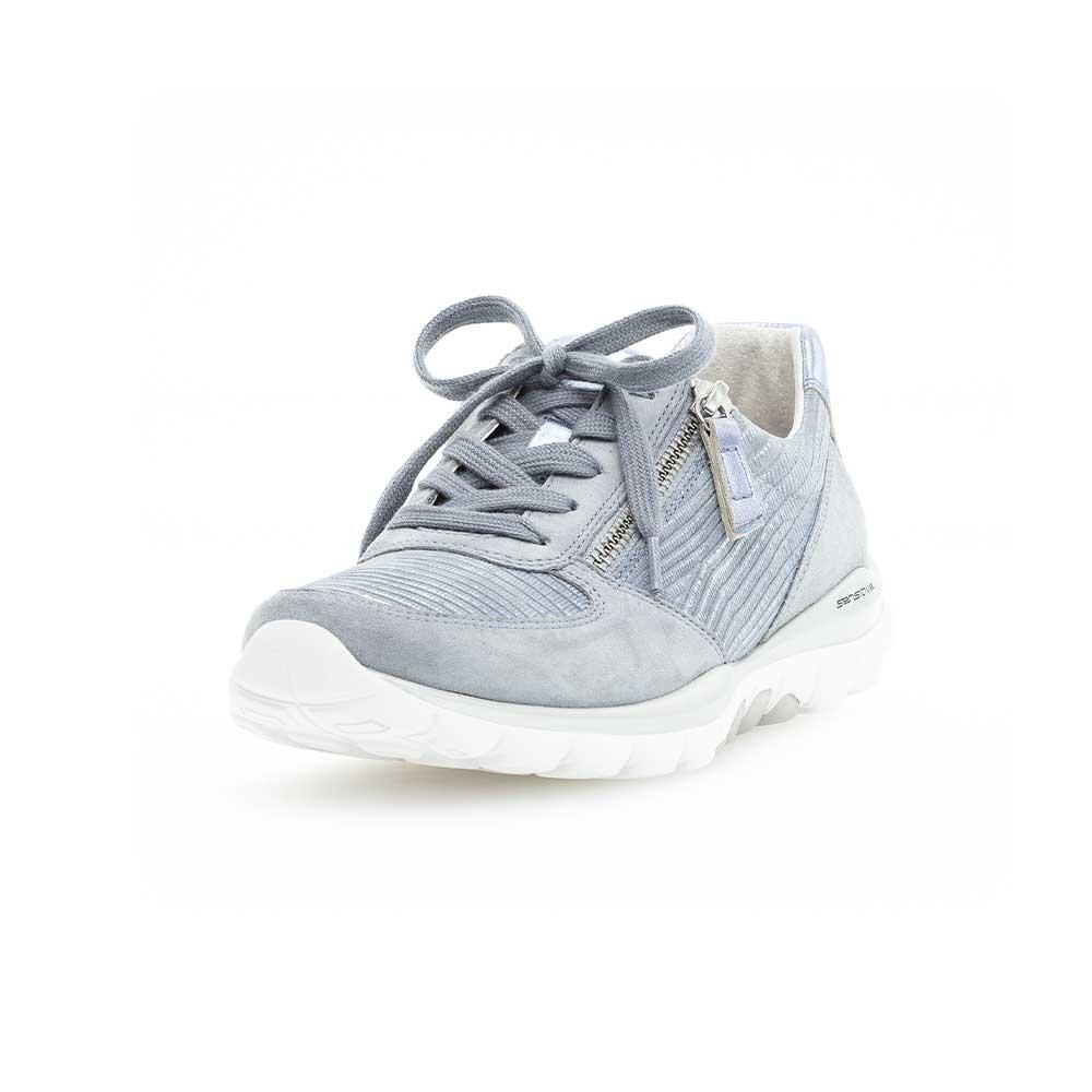 Gabor Rollingsoft sensitive Sneaker Cielo - Ansicht von vorne