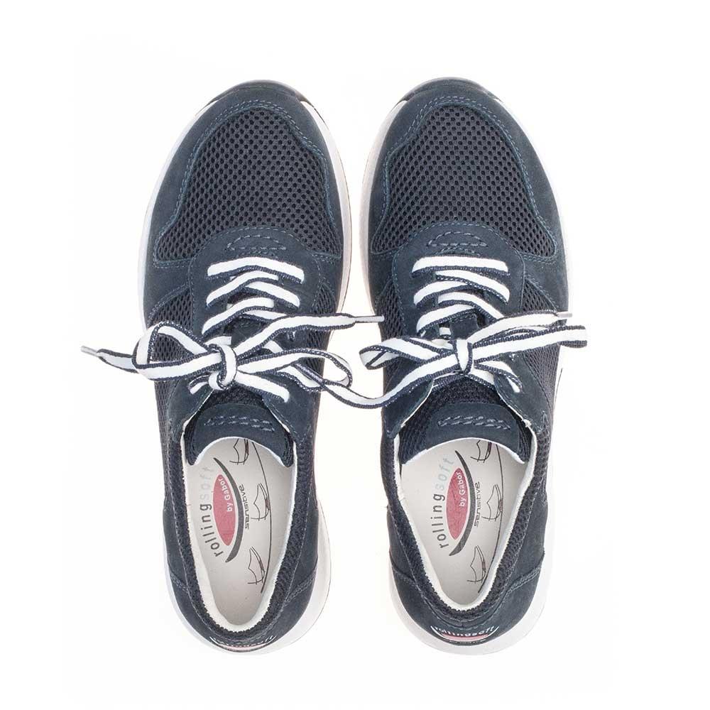 Gabor Rollingsoft sensitive Sneaker Mesh - mit Wechselfußbett