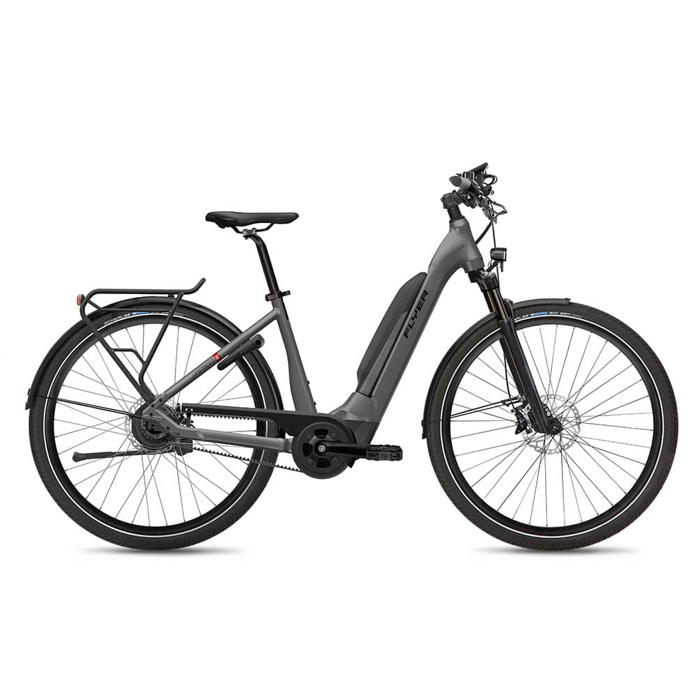FLYER E-Bike Upstreet5 7.23 Comfortrahmen Anthrazit