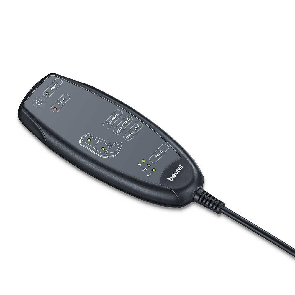 Beurer Massagesitzauflage MG 205, einfach zu bedienender Handschalter