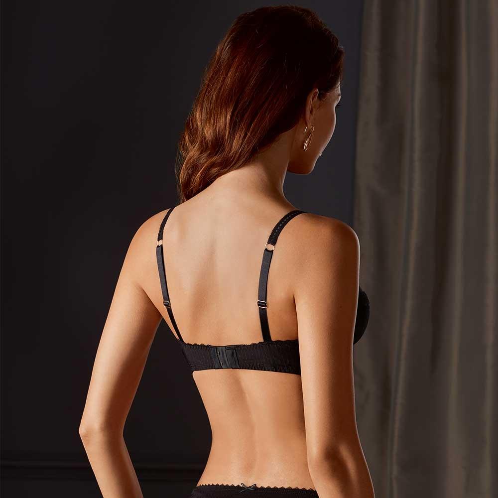 Amoena Aurelie SB Prothesen BH, Rückseite, Farbe: Schwarz