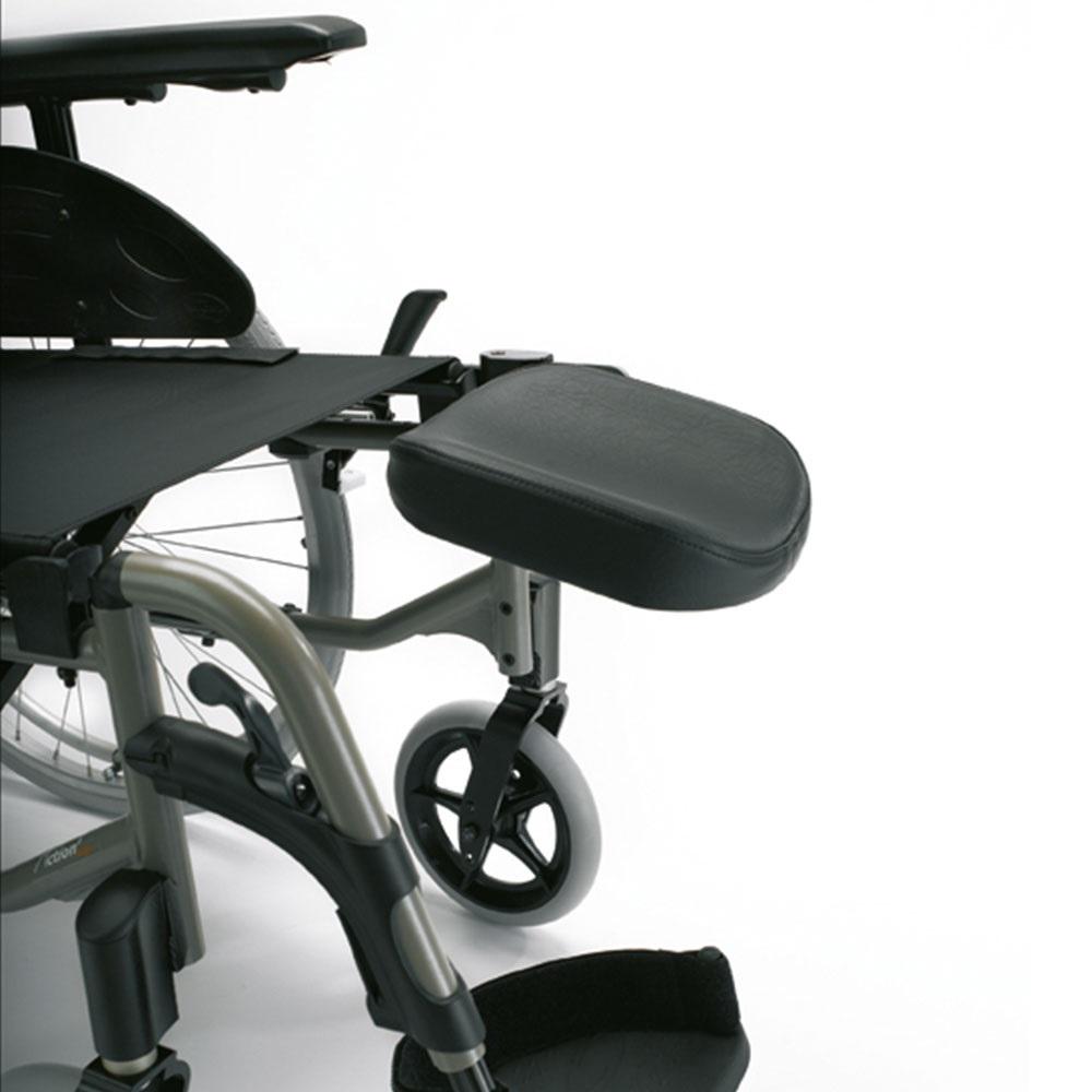 Invacare Amputationsbeinstütze für Invacare Rollstühle