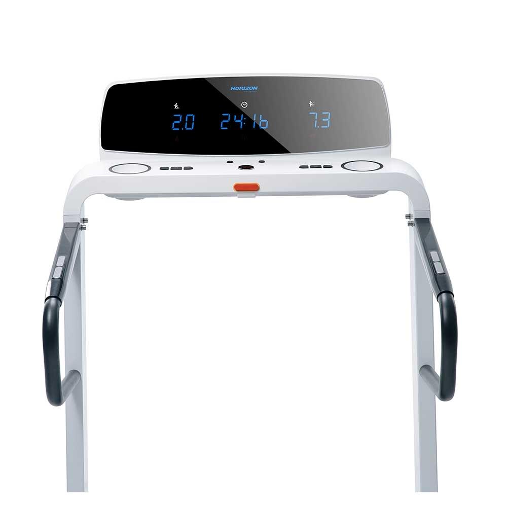 Horizon Laufband OMEGA Z, Display mit Computer