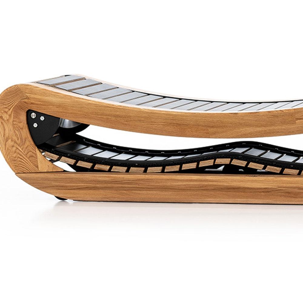 NOHrD Sprintbok Laufband mit Holzlamellen als Antrieb