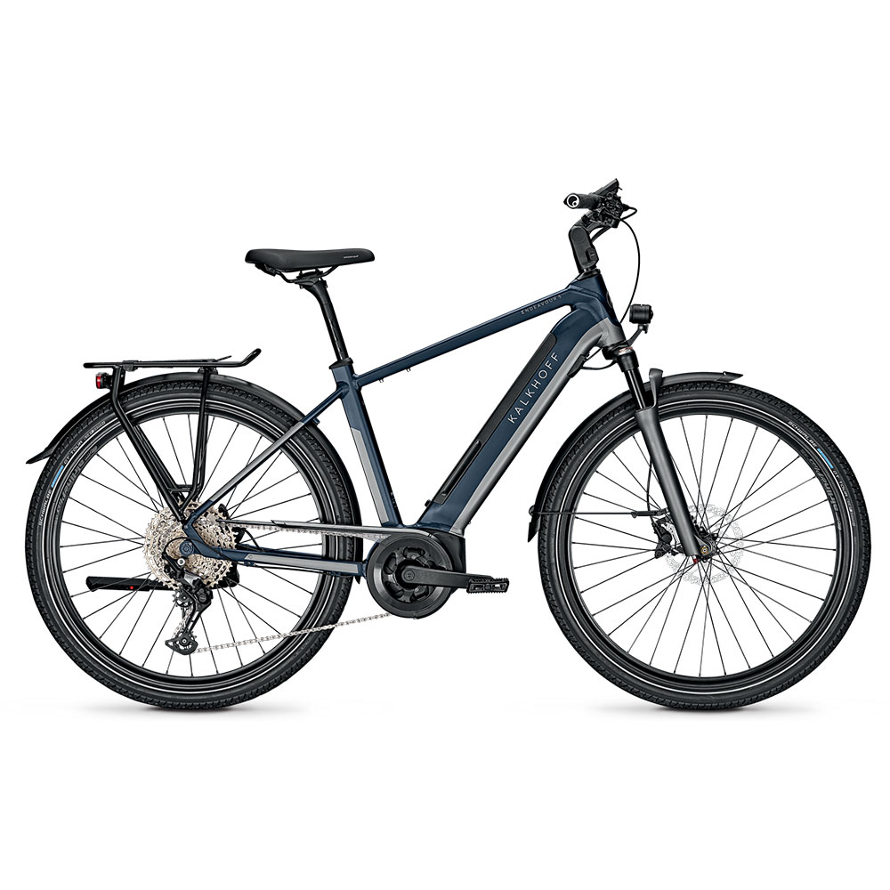 Kalkhoff E-Bike Endeavour 5B Advance  Blau Herrenrahmen