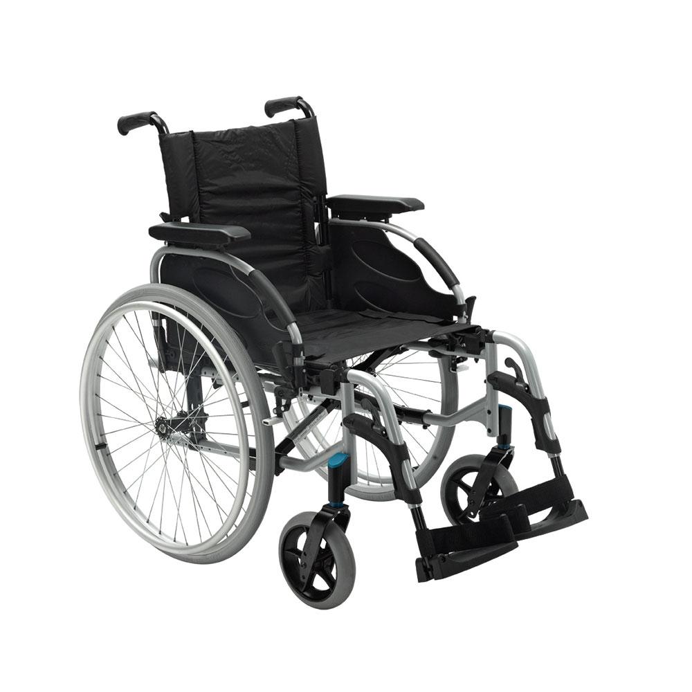 Leicht und wendig: Der Rollstuhl Action2 NG von Invacare