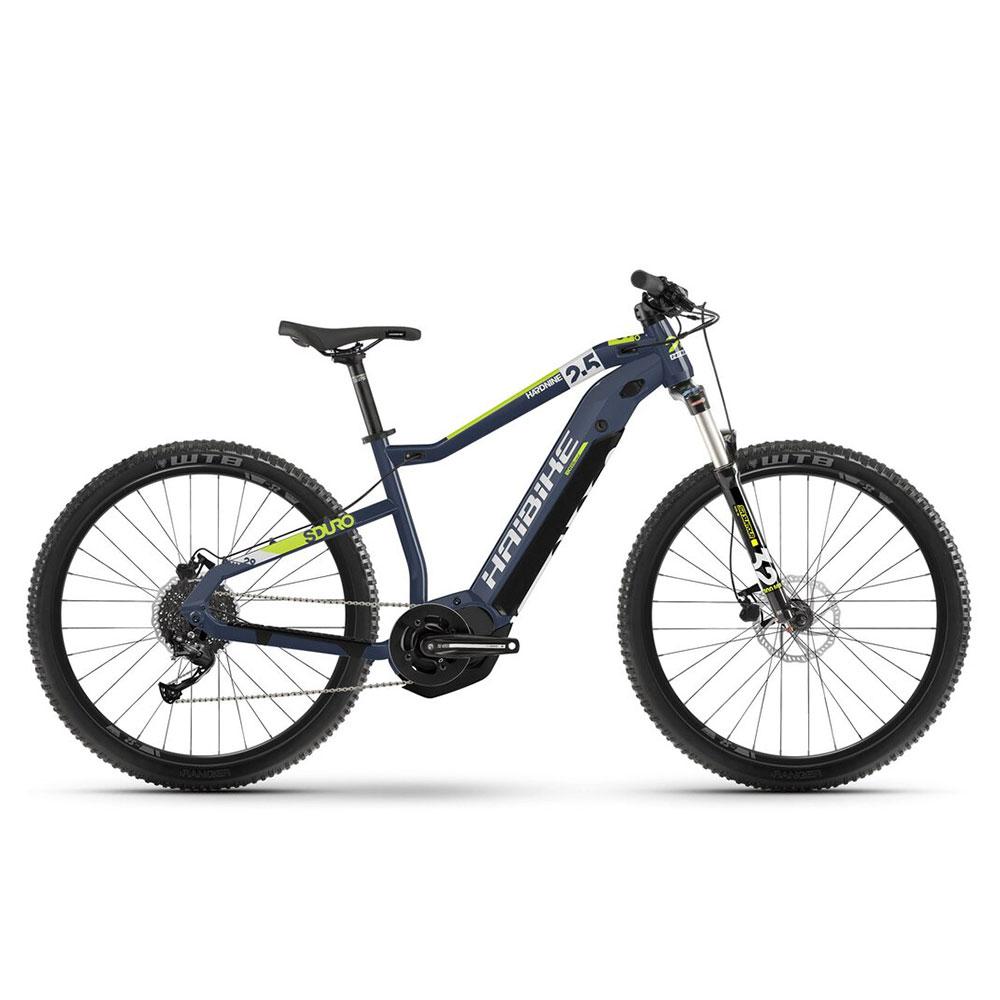 Haibike E-Bike HardNine 2.5 in Blau