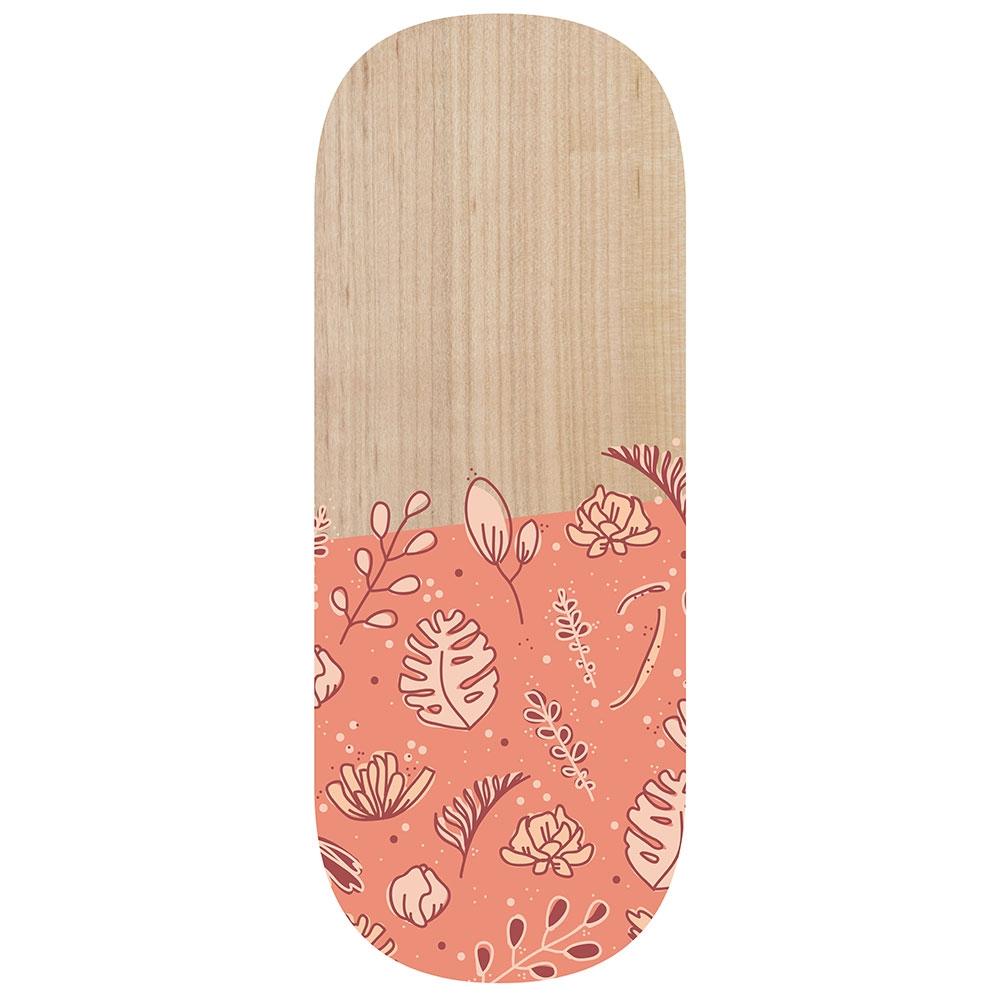 blumen| Rutschbrett meinHOLTZ aus Holz mit verspieltem Blumen-Muster