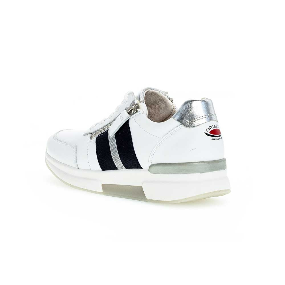 Gabor Rollingsoft sensitive Sneaker White - Ansicht hinten