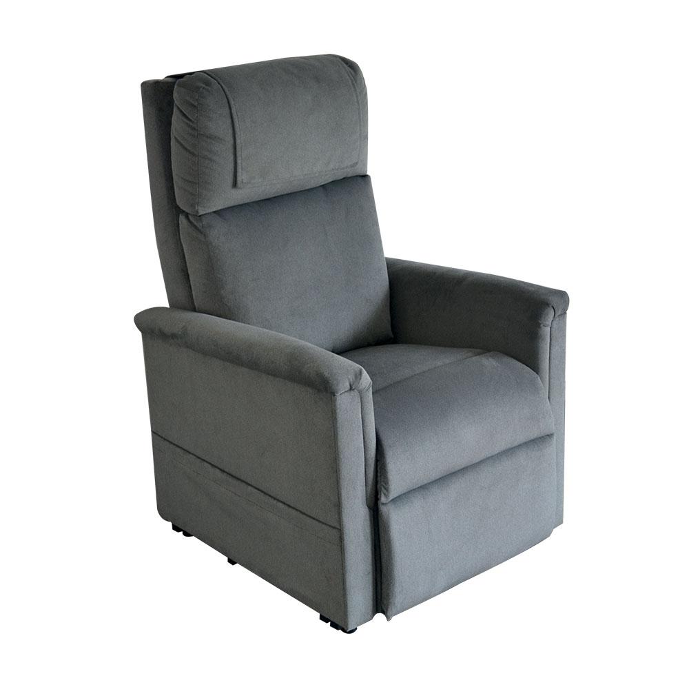 Stahl-Soft-Touch| GOLDEN Moderner Komfort Sessel 2 Motoren