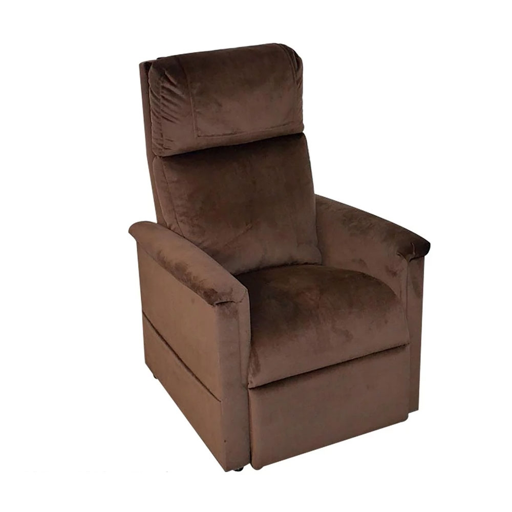 Haselnuss-Soft-Touch| GOLDEN Moderner Komfort Sessel 2 Motoren
