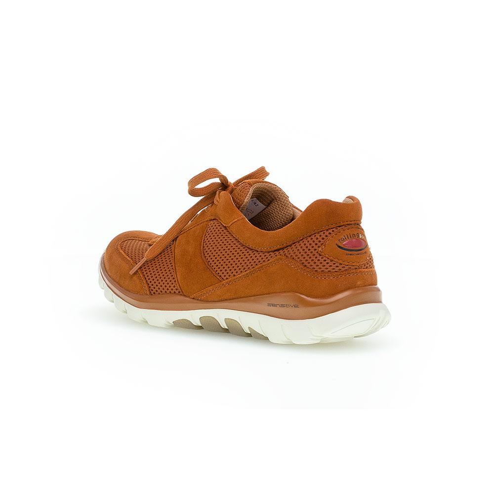 Gabor Rollingsoft sensitive  Sneaker Mesh-Rost - Ansicht hinten