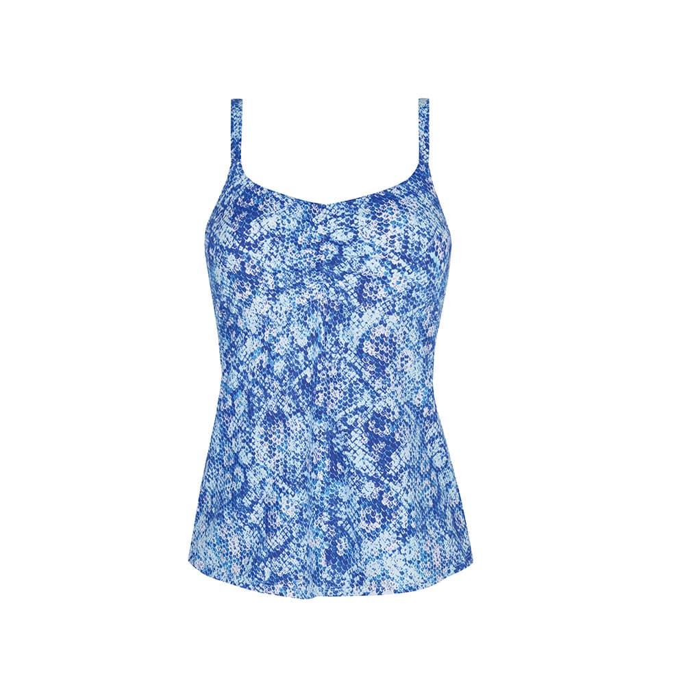 Amoena Louisa Tankinitop blau Ansicht vorne