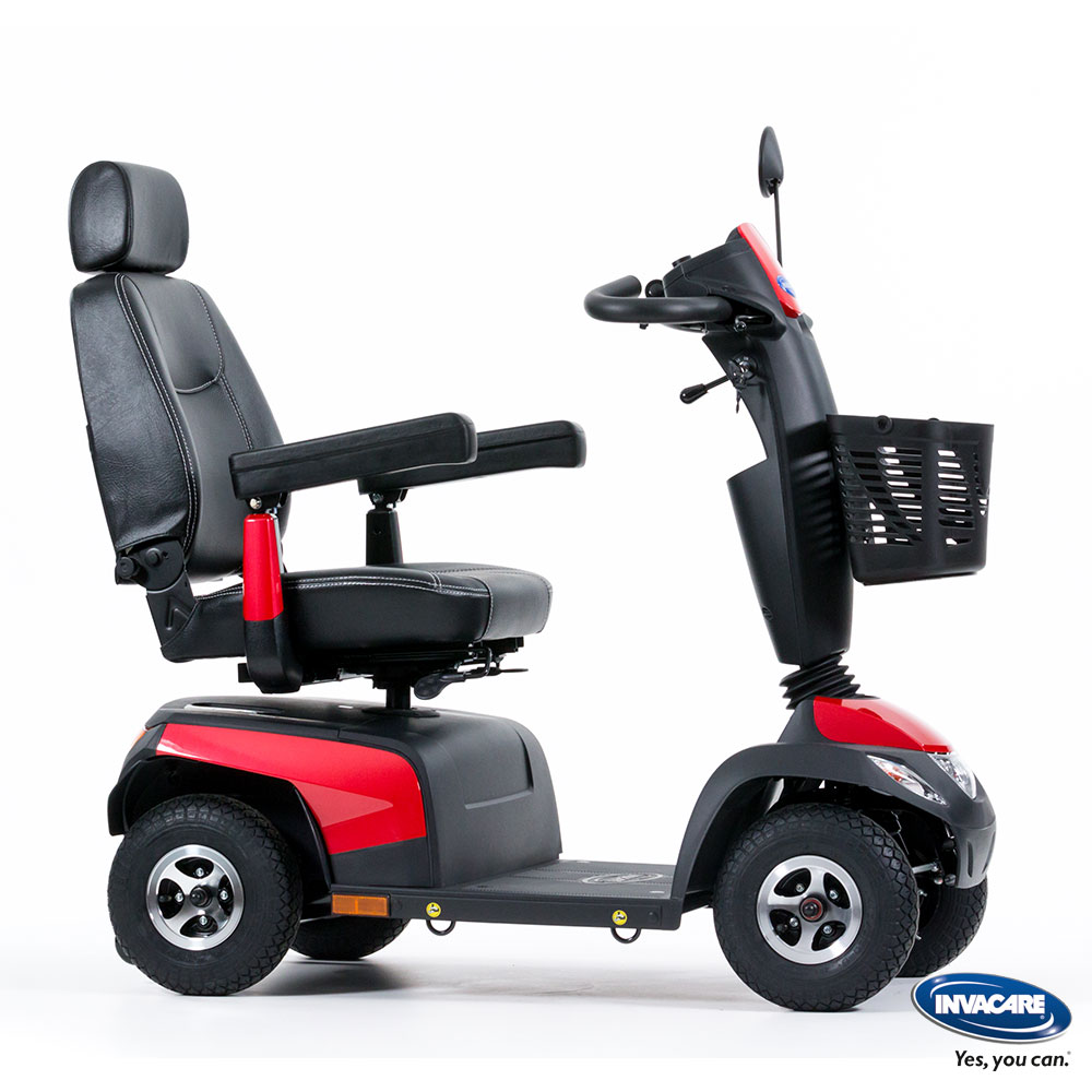Rot| Invacare Scooter Orion METRO 6, Farbe: Rot