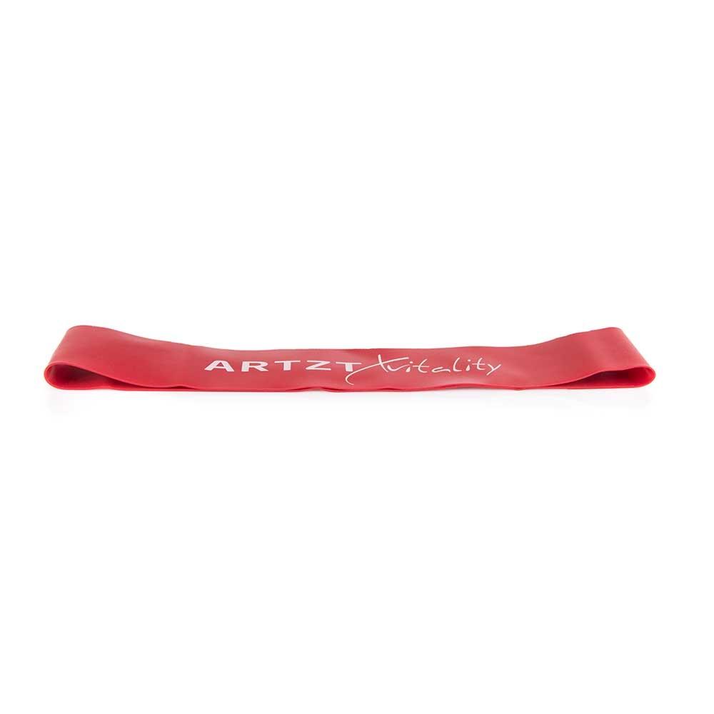 rot-mittel| ARTZT vitality Rubber Band Rot - mittlere Bandstärke