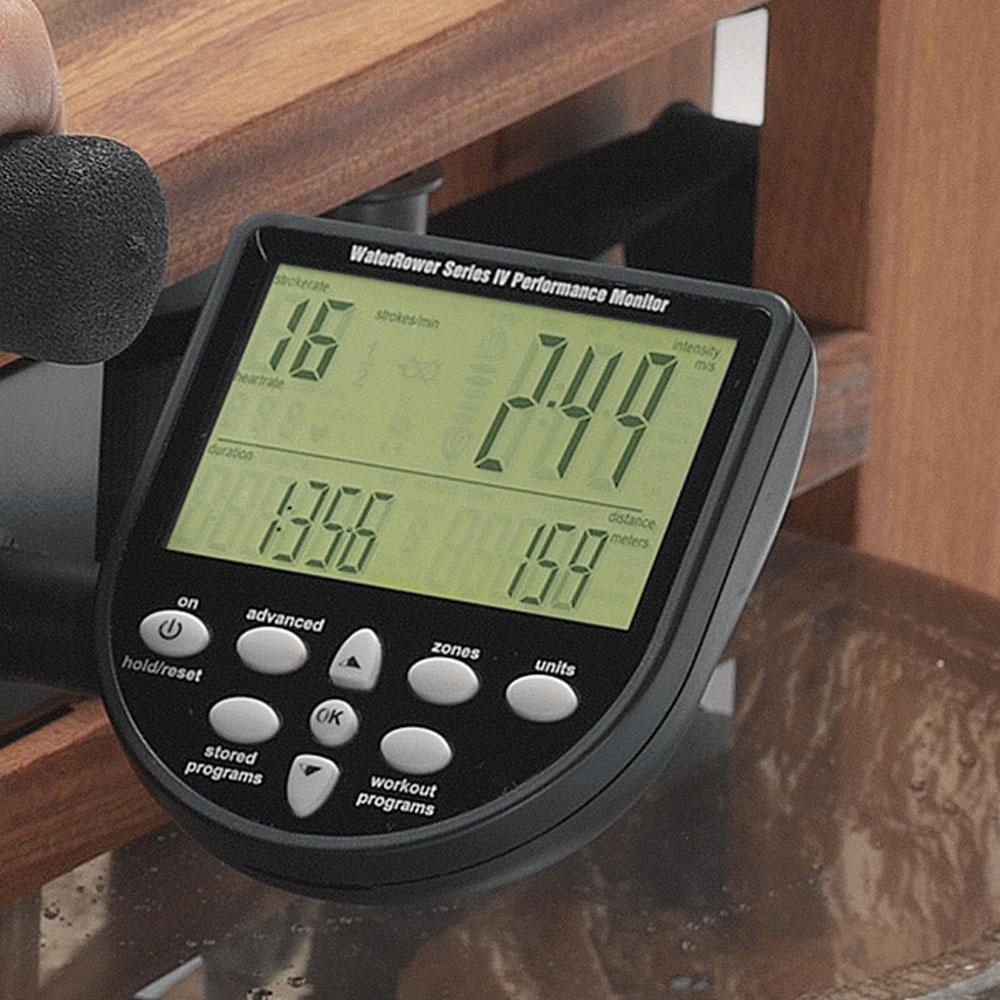 Waterrower Rudergerät, Leistungsmonitor S4