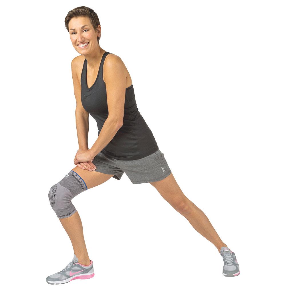 Donjoy Kniebandage GenuForce, nach Operationen, Verletzungen oder bei chronischen Erkrankungen des Knies